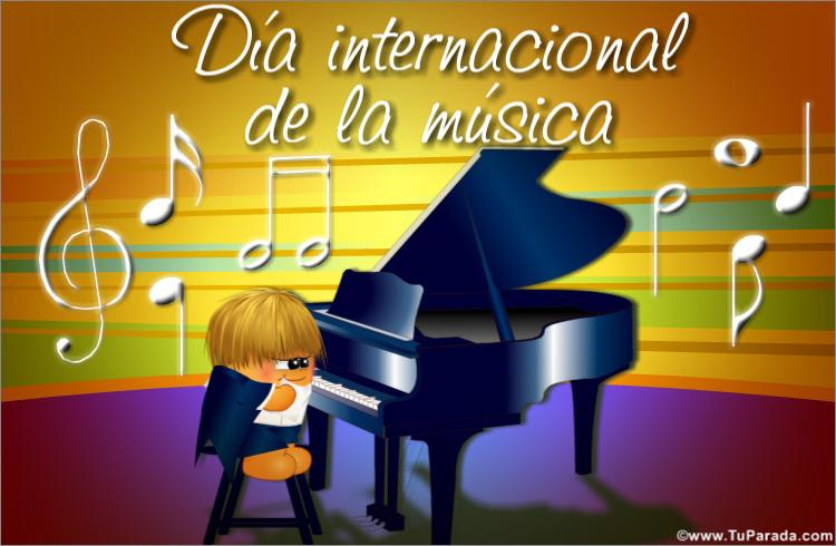 Ver fecha especial de Día Internacional de la Música