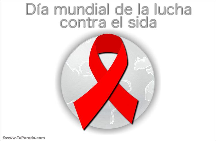 Tarjeta - Tarjeta de lucha contra el sida