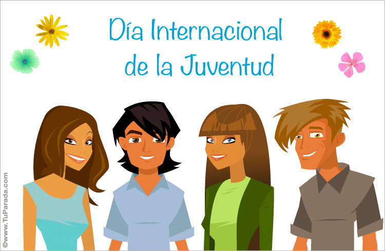 Ver fecha especial de Día Internacional de la Juventud