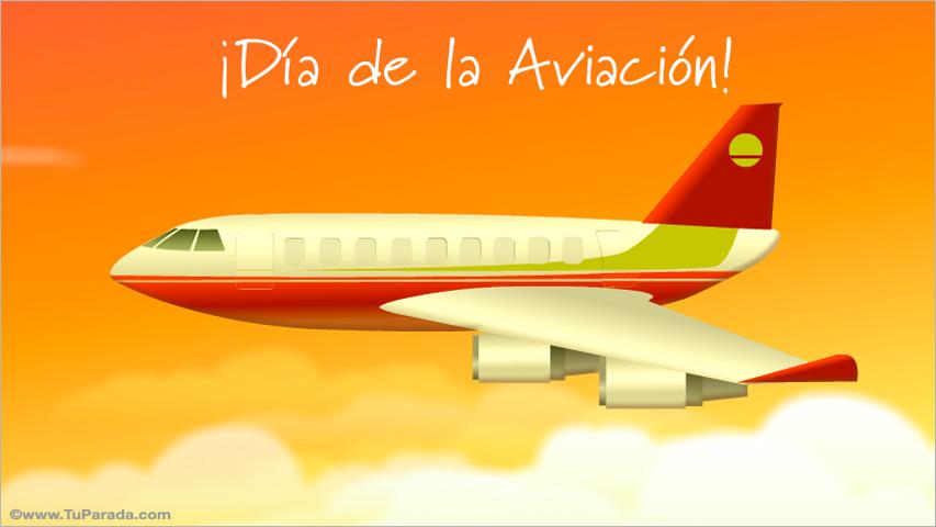 Ver fecha especial de Día internacional de la aviación civil