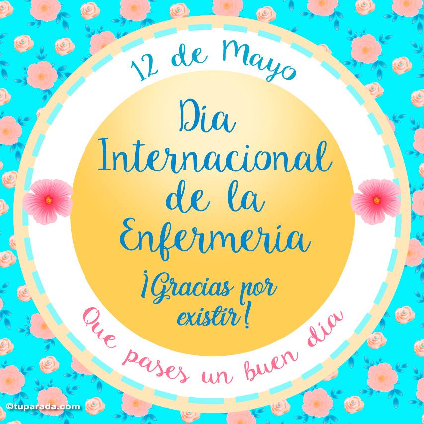 Ver fecha especial de Día Internacional de la Enfermería