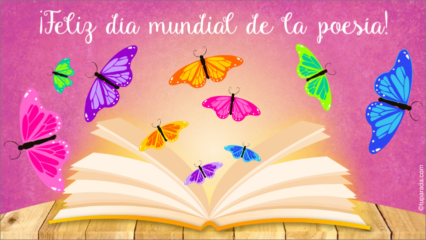 Ver fecha especial de Día mundial de la poesía