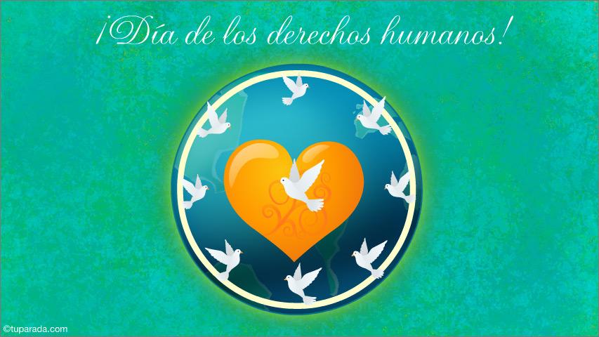 Ver fecha especial de Día universal de los derechos humanos