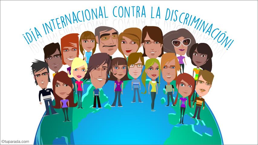 Ver fecha especial de Día internacional contra la discriminación