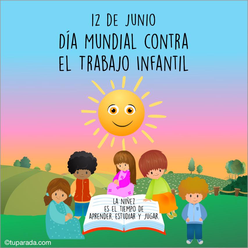 Ver fecha especial de Día Mundial Contra el Trabajo Infantil