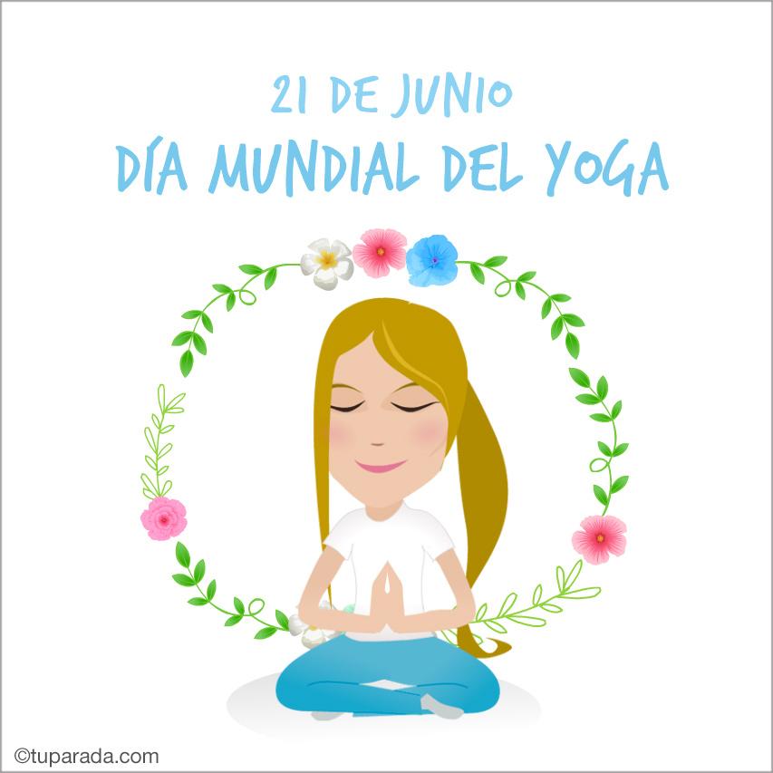 Ver fecha especial de Día Mundial del Yoga