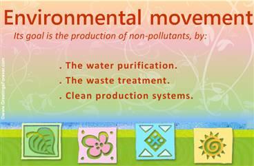 Environmental movement ecard