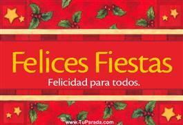 Los mejores deseos...