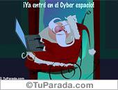 ¡Ya entré en el Cyber Espacio!