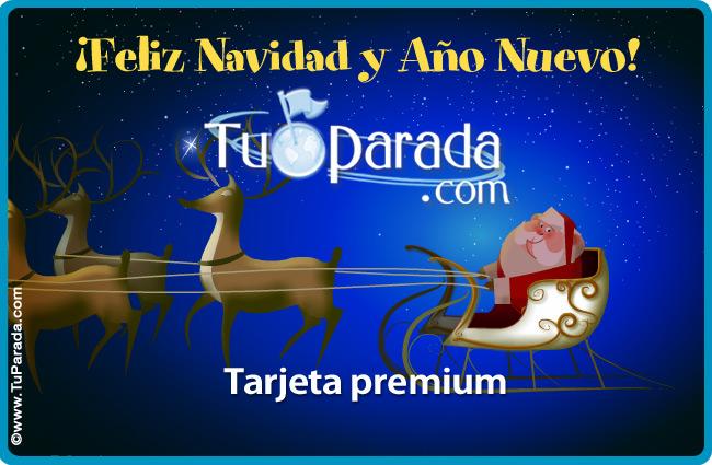 Tarjeta - Feliz Navidad y Año Nuevo