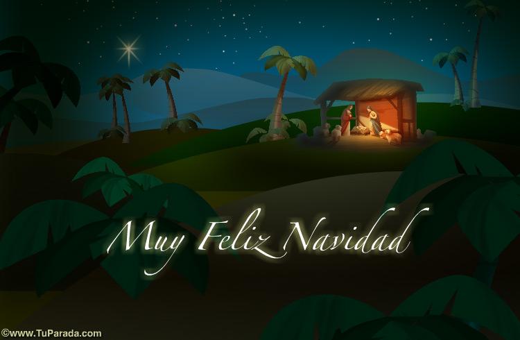 Tarjeta - Muy Feliz Navidad