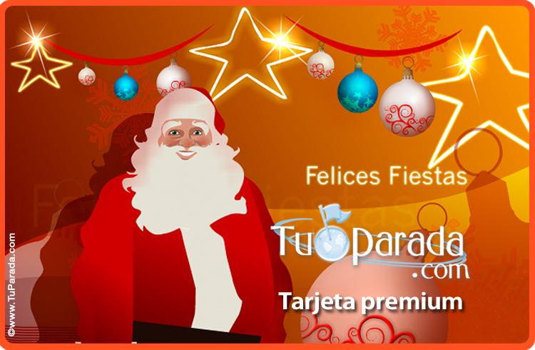 Imagenes Gratis De Papa Noel.Tarjeta De Papa Noel Tarjeta Virtual De Navidad Postal