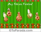 Tarjetas de Navidad en español