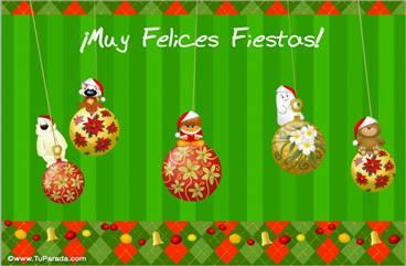 Tarjetas, postales: Tarjetas de Navidad en español