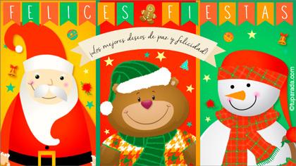 Tarjetas, postales: Navidad y fiestas
