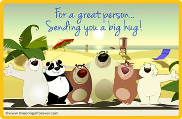 Hugs ecard for you