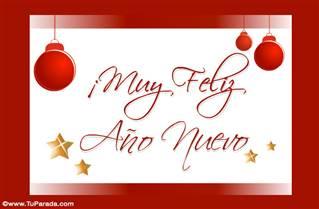 Un gran saludo por el Año Nuevo