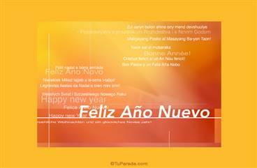 Feliz año nuevo internacional