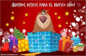 Tarjetas, postales: Fiestas de enero