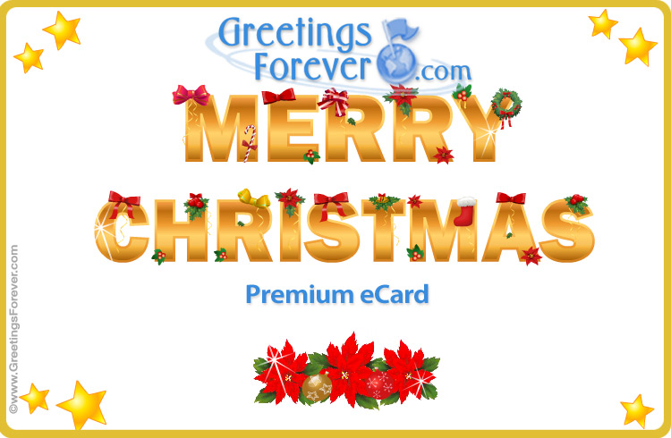 Ecard - Merry Christmas ecard