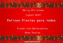Felices Fiestas para todos.