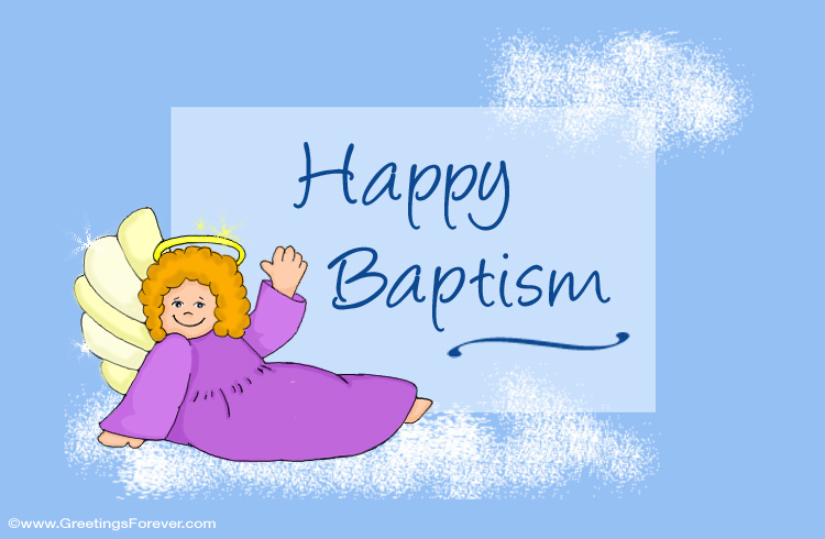 Happy Baptism Ecard