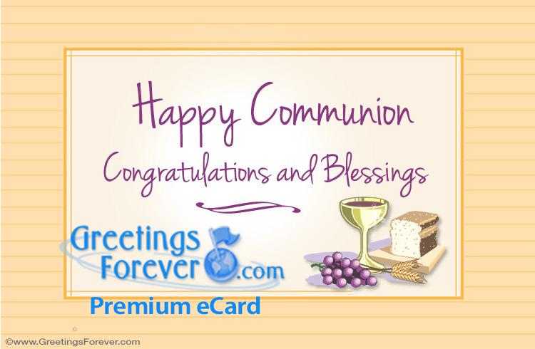 Ecard - Happy Communion ecard