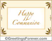 Communion ecard