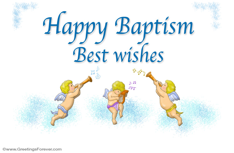Ecard - Baptism ecard