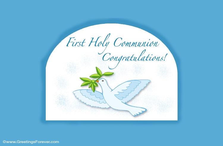 Ecard - First Holy Communion ecard