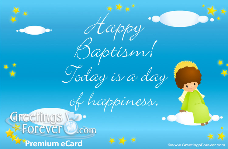 Baptism ecard christian and catholic ecards ecards baptism ecard m4hsunfo