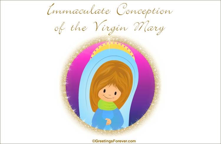 Ecard - Immaculate Conception of the Virgin Mary