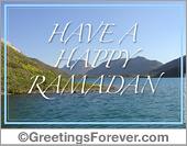 Ramadan ecard