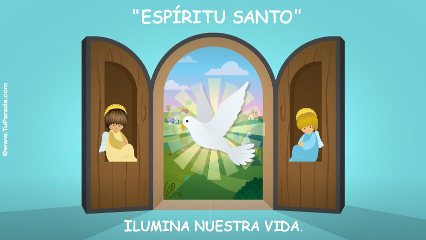 Tarjeta - Espíritu Santo