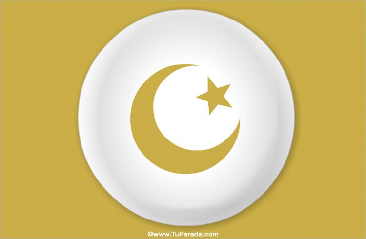 Tarjeta - Símbolo Islam