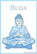Tarjeta de Religión Budista