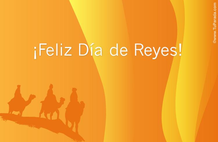 Tarjeta - Tarjeta para el Día de Reyes