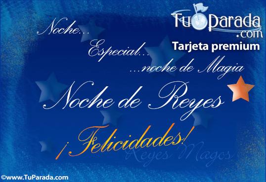 Tarjeta - Noche de Reyes