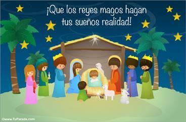 Tarjeta para Reyes