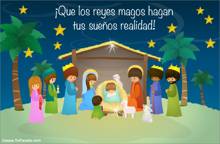 Tarjeta - Tarjeta para Reyes