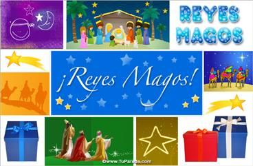 Ecard para los Reyes Magos