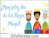 Tarjetas postales: Feliz día de los Reyes Magos