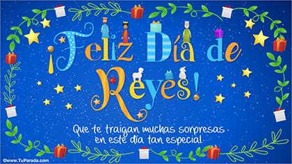 Tarjetas, postales: Reyes Magos