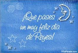 Muy feliz día de Reyes