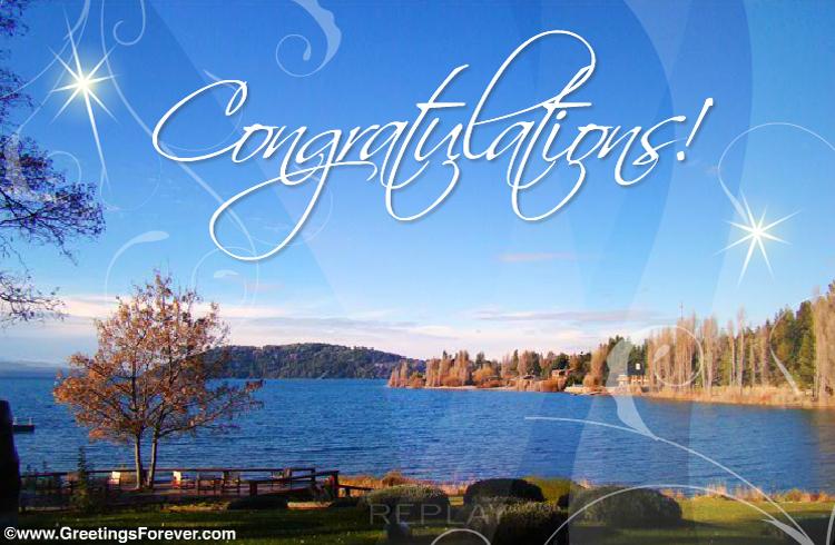 Ecard - Congratulations ecard