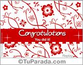 Congratulations egreeting