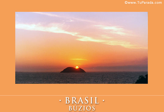 Cartão - Búzios, Brasil