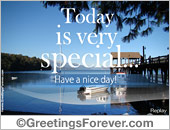 Special day ecard