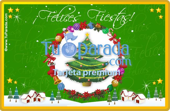Tarjeta - Tarjeta navideña