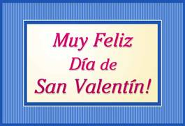 San Valentín con marco.